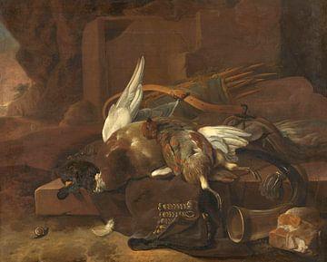 Jachtbuit, Melchior d'Hondecoeter