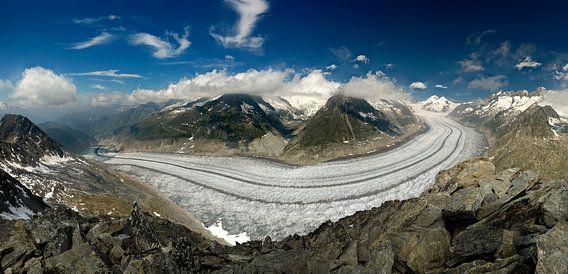 Aletsch gletsjer van Sjoerd Mouissie