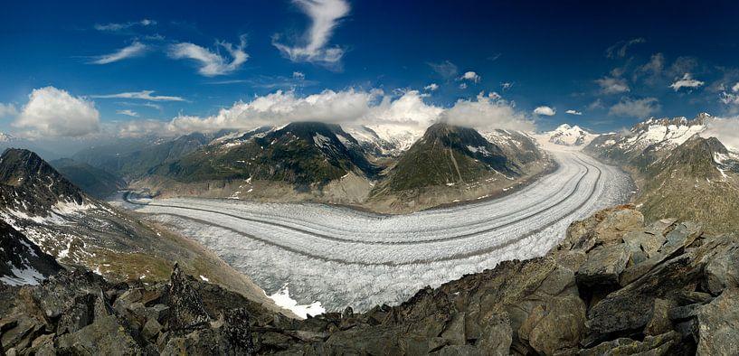 Aletsch gletsjer sur Sjoerd Mouissie