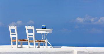 Imerovigli, Santorin, Griechenland von Henk Meijer Photography