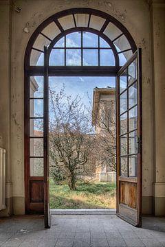 Doorkijkje naar een Italiaanse tuin sur Manja van der Heijden