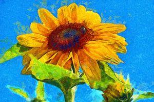 Vincent van Gogh Stijl Zonnebloemen