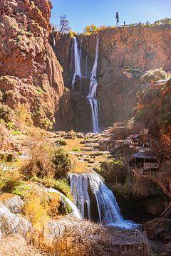 Waterval in Marokko van Karin Riethoven