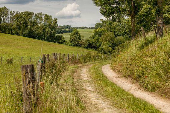 Holle weg bij Simpelveld in Zuid-Limburg