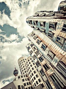 Gehry Düsseldorf II von Frank Wächter