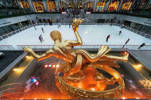 Prometheus Statue New York