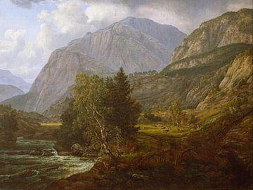 Blick auf Fortundalen, Johan Christian Dahl