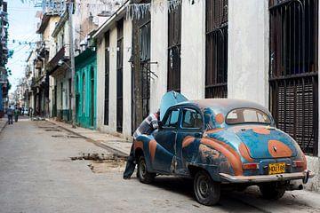 Cubaanse Auto van Barbara Koppe