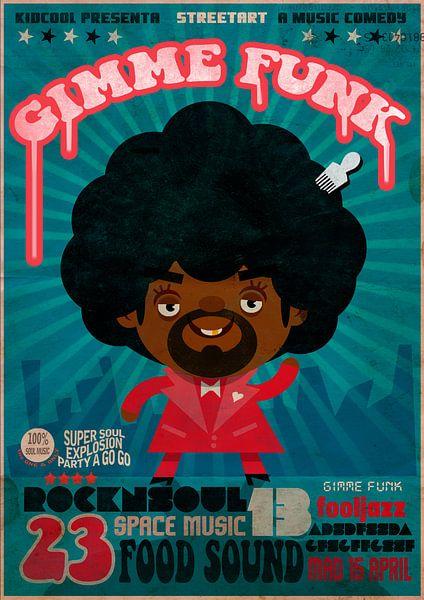 Gimme Funk van Ramudo Rey