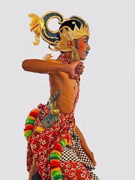 Javaanse Danser van Eduard Lamping
