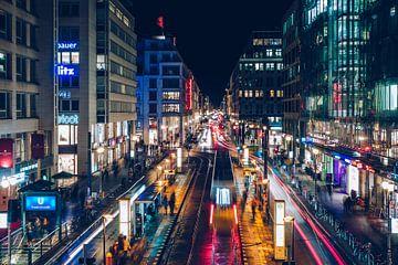 Berlin - Friedrichstrasse van Alexander Voss