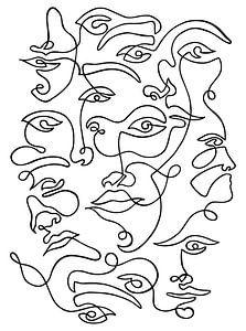 FACES von Isaura Avalon