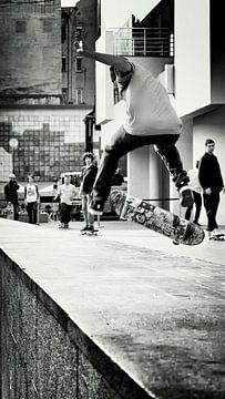 skateboard junkie sur Rik Engelgeer