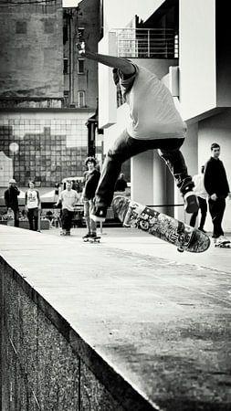skateboard junkie von Rik Engelgeer
