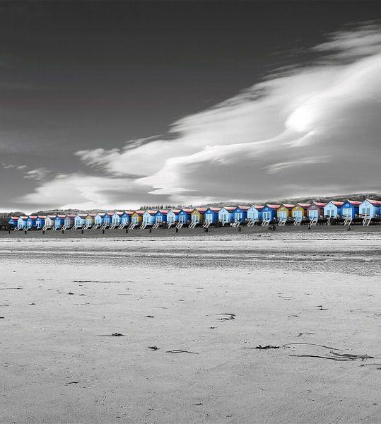 Beach Houses van Jacky Gerritsen