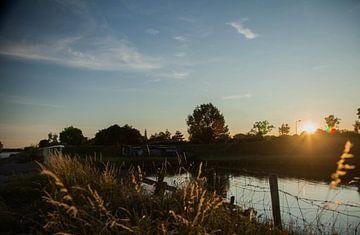Kanaal van Middelburg naar Veere van Hartsema fotografie