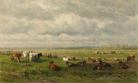 Weidelandschap met vee