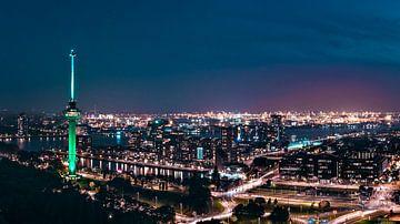 Vanaf de Euromast tot de Rotterdamse haven von Midi010 Fotografie