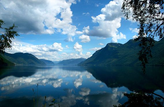 Harmonie tussen lucht en water