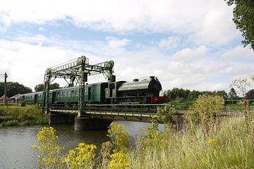Train à vapeur au château à colombages I Train à vapeur de Maldegem - Eeklo I Aspect rétro - industr