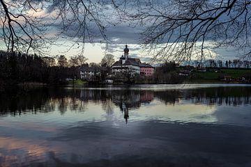Höglwörth Lake van Peter Oslanec