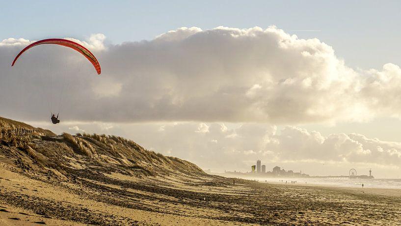 Scheveningen Beach van Dirk van Egmond