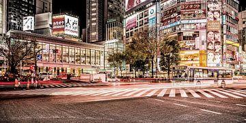Shibuya-Kreuzung von Edwin Benschop