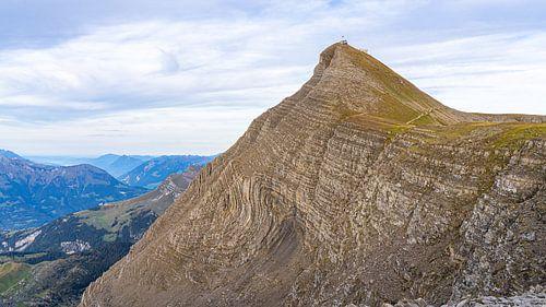Faulhorn, op de weg van Schynige Platte naar First in Zwitserland
