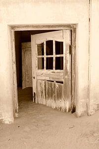 Vergane glorie, de deur staat altijd open