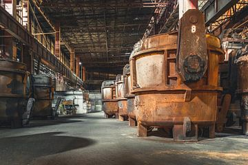Moulage de métaux sur Perry Wiertz