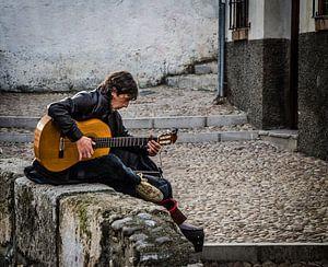 Een gitaar is genoeg