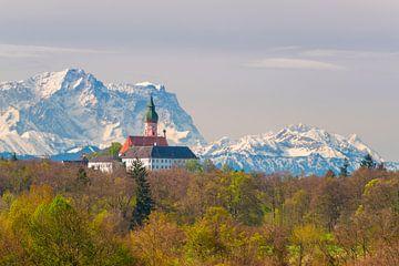 Kloster Andechs von Denis Feiner