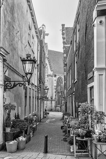 Enge Kerksteeg Amsterdam richting Oude Kerksplein.