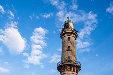 Blick auf den Leuchtturm im Ostseebad Warnemünde von Rico Ködder