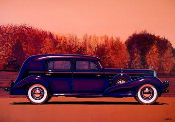 Cadillac V16 Custom Imperial 1937 Gemälde von Paul Meijering