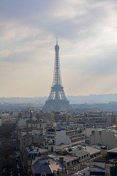 Eiffeltoren in de zon van Mark Scholten