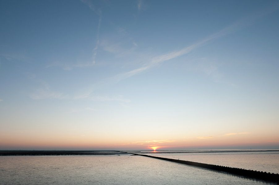zonsondergang10 van Geertjan Plooijer