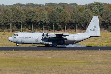 Koninklijke Luchtmacht C-130J-30 Hercules van Dirk Jan de Ridder