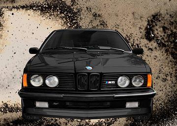 BMW M635CSi E24 n zwart van aRi F. Huber