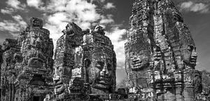 Angkor Thom, Bayon Temple van