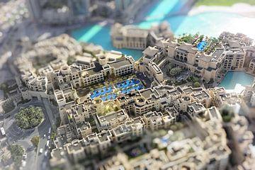 Dubai, miniatuur von Henri Berlize