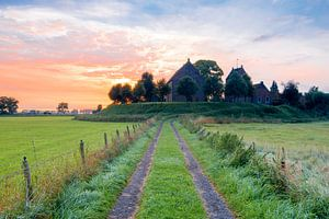 Kirche von Ezinge von Richard Gilissen