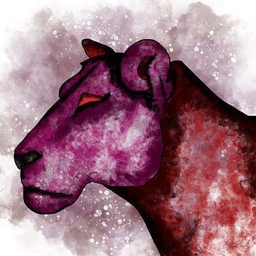 Die rote Löwin