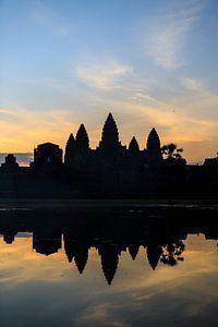 De tempel van Angkor