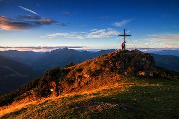 Alpen Zonsopgang van Frank Peters