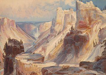 Thomas Moran~Der Großkanon des Yellowstones, Yellowstone-Nationalpark