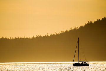 Avondstemming op Vancouver Island van Dirk Rüter