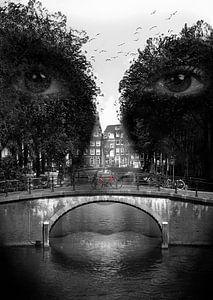 Gesicht von Amsterdam von CityCreatives