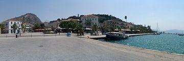 Nauplie ; Ancienne capitale de la Grèce avec plusieurs défenses et bâtiments vénitiens et ottomans. sur