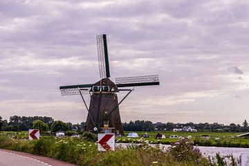Hollandse Windmolens van Brian Morgan